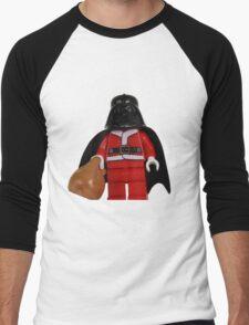 Santa Darth Vader Men's Baseball ¾ T-Shirt
