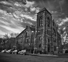 Methodist Episcopal B/W by anorth7