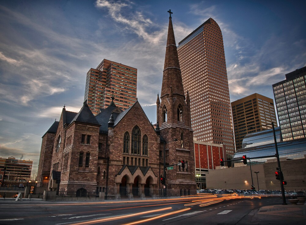 Trinity Methodist surrounded by Denver by anorth7