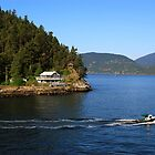 Horseshoe Bay - Boat Cruising By by rsangsterkelly