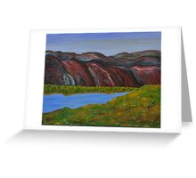 009 Landscape Greeting Card
