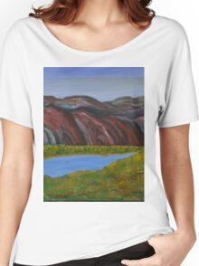 009 Landscape Women's Relaxed Fit T-Shirt