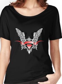 Ribbons Vector Women's Relaxed Fit T-Shirt