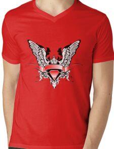 Ribbons Vector Mens V-Neck T-Shirt