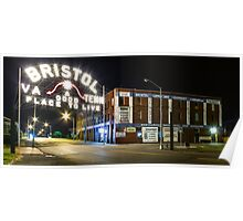 The Landmark Bristol Sign Poster