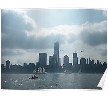 Tall Ships Parade, Fleet Week, New York Harbor, New York City, May 23, 2012 Poster
