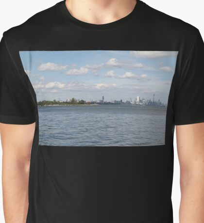 "Toronto (The 6) Skyline ""Halves"" Graphic T-Shirt"