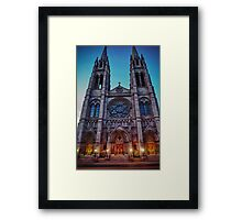 Cathedral Basilica of Immaculate Conception Framed Print