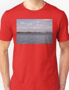 "Toronto (The 6) Skyline ""Halves"" Unisex T-Shirt"