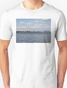"Toronto (The 6) Skyline ""Halves"" Unisex T-Shirt"