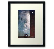 The redhound Framed Print
