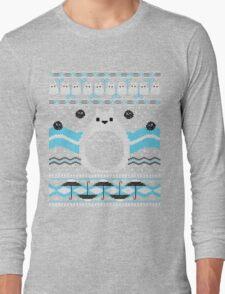 Totoro Knitted Neighbor Long Sleeve T-Shirt