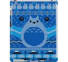 Totoro Knitted Neighbor iPad Case/Skin