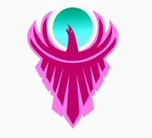 The New Day - Phoenix Logo (Pink and Teal) T-Shirt