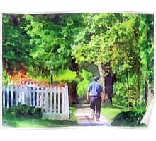 Lovely Day for a Walk Poster