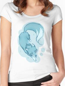 Winter fox Women's Fitted Scoop T-Shirt