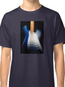 Fender Stratocaster In Blue Sparkle Zoom Classic T-Shirt