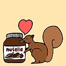 A Squirrel's Nutella by sirmaverick