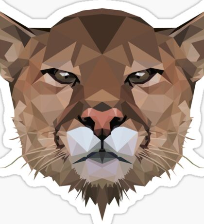 Cougar (Mountain Lion) Sticker