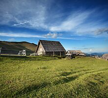wooden cottage by amirbajric