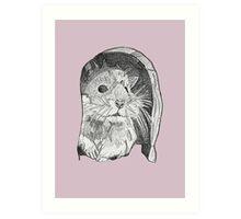 Hamster sketch Art Print