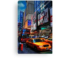 All The Way To New York City Canvas Print