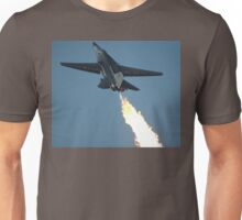 F111 - Flaming Climbout @ Amberley Airshow 2008 Unisex T-Shirt