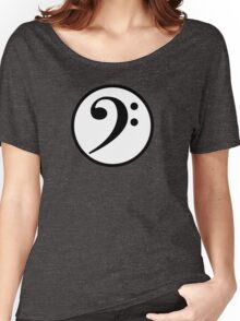 Bass Clef Women's Relaxed Fit T-Shirt