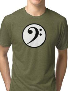 Bass Clef Tri-blend T-Shirt