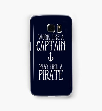 Play like a Pirate Samsung Galaxy Case/Skin