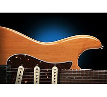 Fender Stratocaster Curves Photographic Print