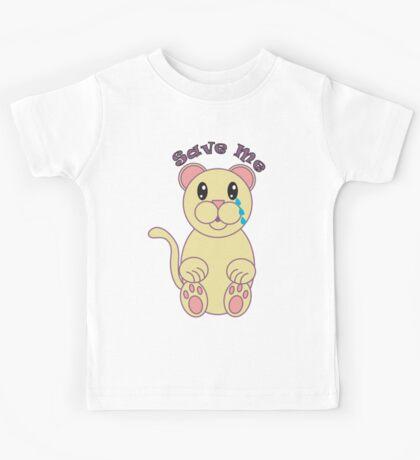 Save Me (Florida Panther) Kids Tee