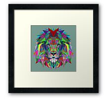 Lion-Evolution Framed Print