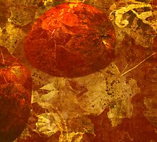 Apples & Autumn Leaves by elainemarie999