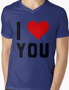 LOVE YOU Mens V-Neck T-Shirt