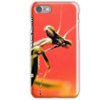 Manic Mantis iPhone Case/Skin