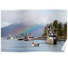 Opening Day-Sitka Sac Roe Herring Fishery Poster