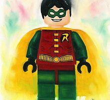 lego Robin by Deborah Cauchi