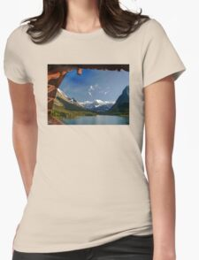 Glacier National Park Womens Fitted T-Shirt