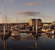Seaport Harbour - Launceston, Tasmania by Paul Gilbert