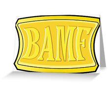 "McCree's ""BAMF"" Greeting Card"
