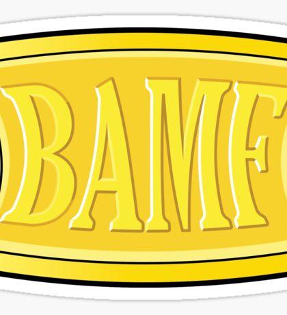 "McCree's ""BAMF"" Sticker"