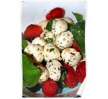 Cherry Tomato and Mozzarella Salad Poster