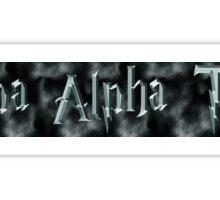 Kappa Alpha Theta Harry Potter Sticker