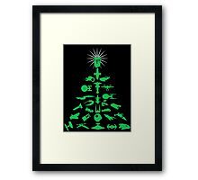Happy Geeksmas! Framed Print