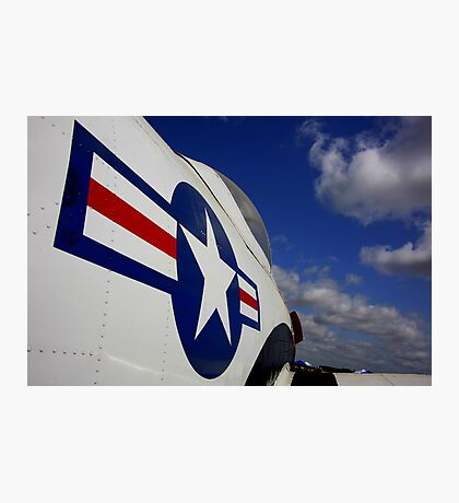 WWII Airplane - US Airforce Photographic Print