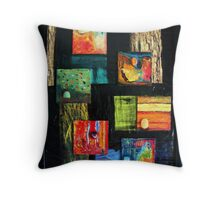 Earthly Elements Throw Pillow