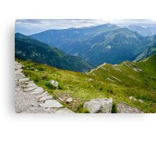 Tatry from the Kasprowy Wierch Canvas Print