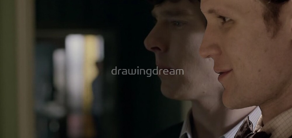 Sherlock and Doctor Profile  by drawingdream