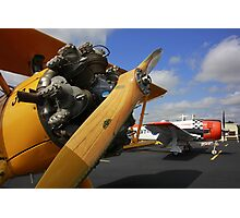 WWII Airplane - PT-17 STEARMAN Photographic Print